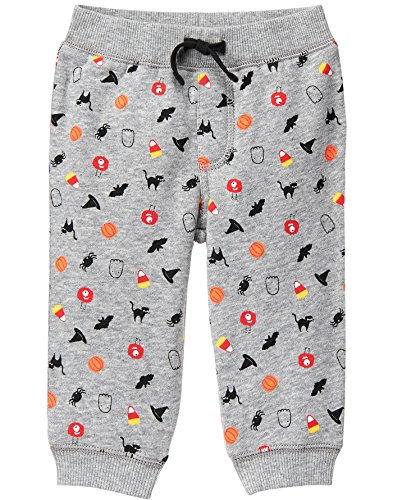 (Gymboree Baby Infant Halloween Print Jogger Pant, 0-3)