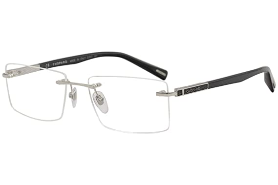 e6016929c4 Image Unavailable. Image not available for. Color  Eyeglasses Chopard VCHB  963 Silver 0579