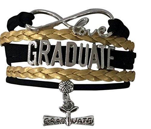 Infinity Collection Graduation Jewelry, Class of 2019 Graduation Bracelet for Graduates ()