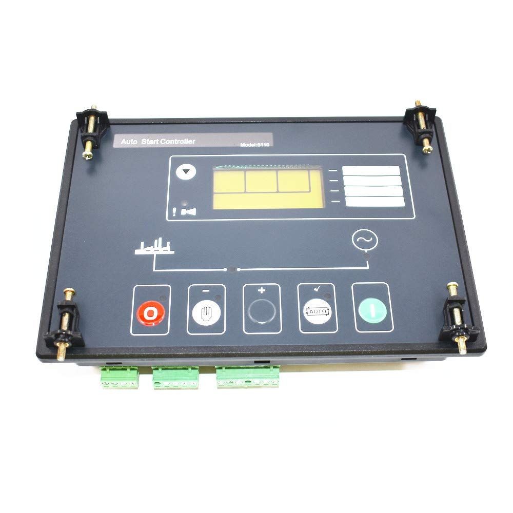 findmall New DSE5110 Generator Electronic Controller Control Module LCD Display for Deep Sea