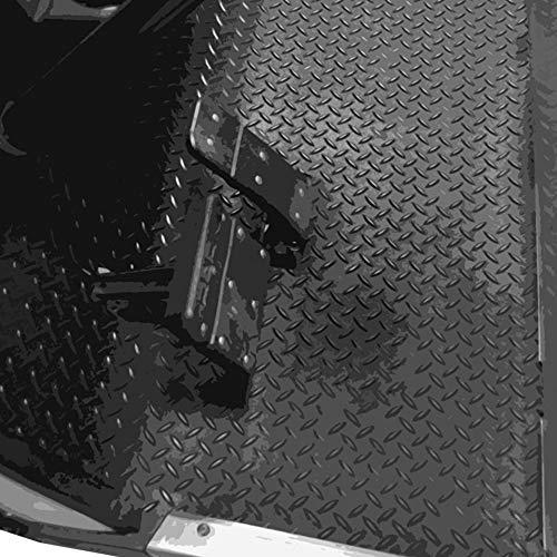 Madjax Replacement Floor Rubber Mat- Diamond Plated Yamaha Drive 2007-2016
