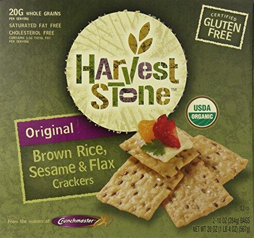 Organic Gluten Free Harvest Stone Crackers 20 Oz, 20 ()