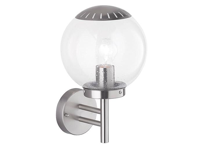Elegante lámpara aplique/exterior bola Remo con filamento ...