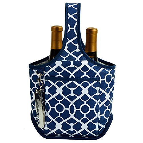 Two Bottle Wine Tote - 6