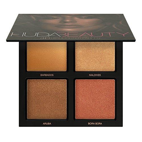 Huda Beauty 3D Highlighter Palette ~ Bronze Sands Edition