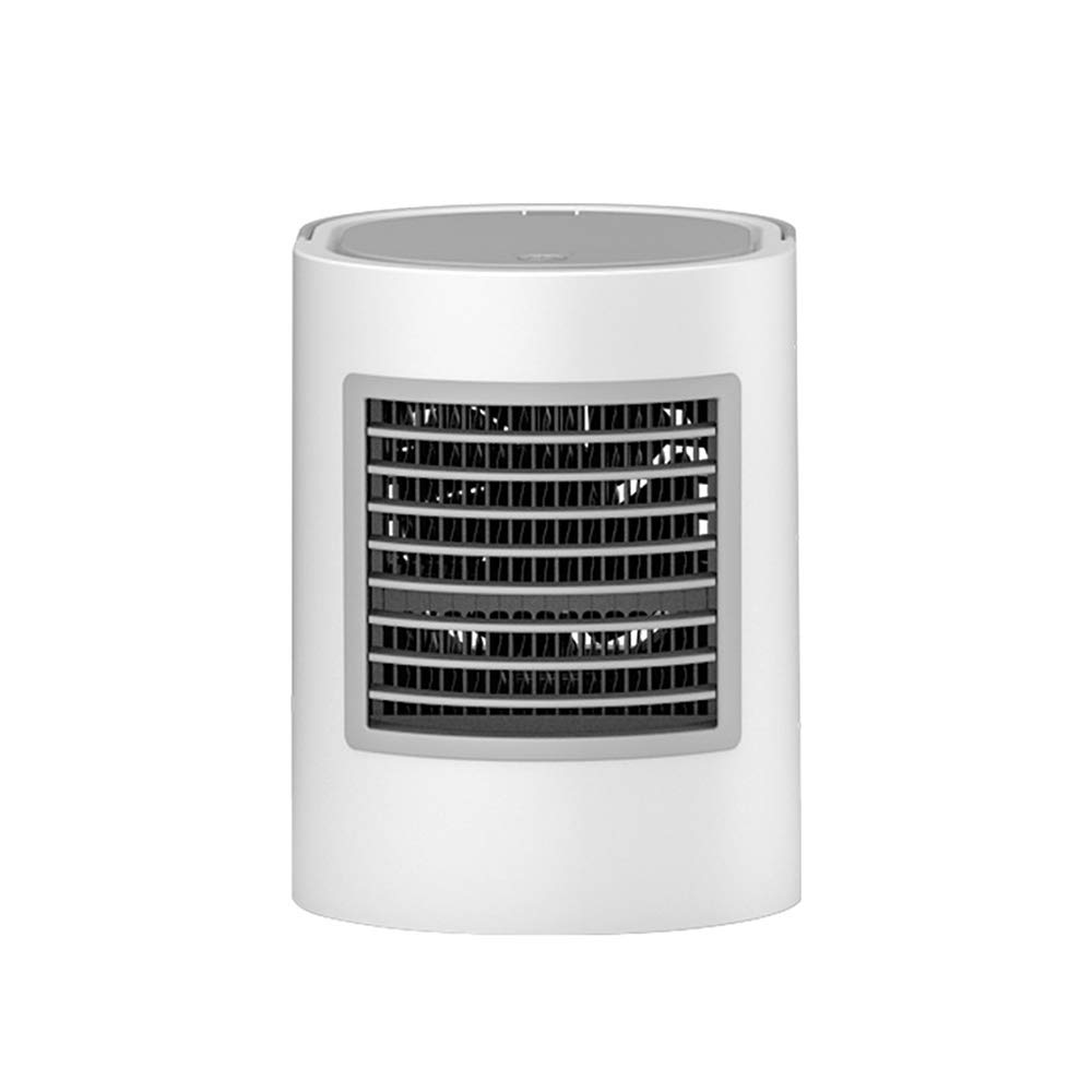 JIANword Small Air Conditioning Refrigeration Mini Portable USB Small Fan Air Cooler Dormitory Small Refrigerator Fan,A
