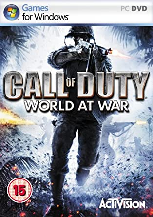 Call of Duty 5: World at War pc dvd-ის სურათის შედეგი