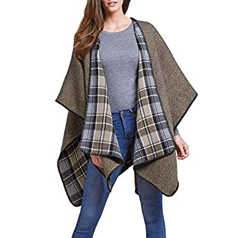 Amazon Com Woolrich Reversible Blanket Wrap Clothing