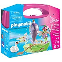 Playmobil Fairy Boat Carry Case Building Kit