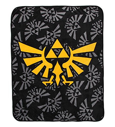Nintendo Legend Zelda Throw Blanket