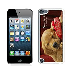 linJUN FENGRecommend Design Christmas Dog White iPod Touch 5 Case 37