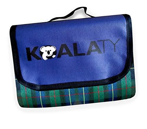 Koalaty Premium XL Waterproof Blanket, Windproof, Stadium, Camping, Machine Washable, Picnic & Outdoor, Beach Mat, Dog, Rainproof, 80 x 80 Inches