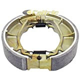 Big Bearing BS-135 3250 Honda FL250 Odyssey ATV Rear Brake Shoe 1977-1984, Organic Based Non-Asbestos(Pack of 2)