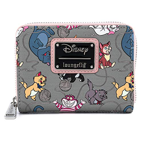 Loungefly-Disney-Cats-Faux-Leather-Zip-Around-Wallet