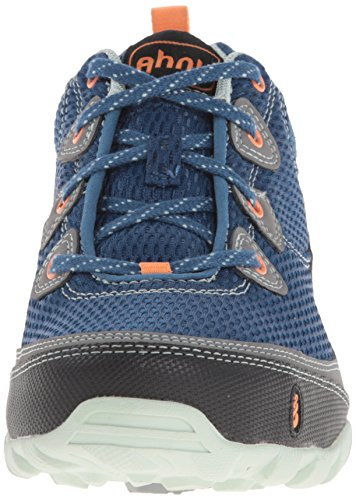 Ahnu Dark Mesh Women's Sugarpine Air Blue Hiking Shoe grOgUxq