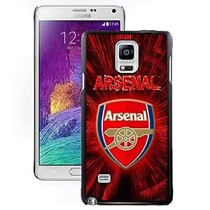 Unique DIY Designed Case For Samsung Galaxy Note 4 N910A N910T N910P N910V N910R4 With Soccer Club Arsenal 03 Football Logo Cell Phone Case