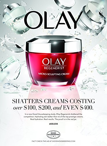 Olay, Anti-Aging Face Moisturizer Cream by Olay Regenerist, Micro-Sculpting & Fragrance-Free 1.7 Ounces (packaging may vary) by Olay (Image #7)