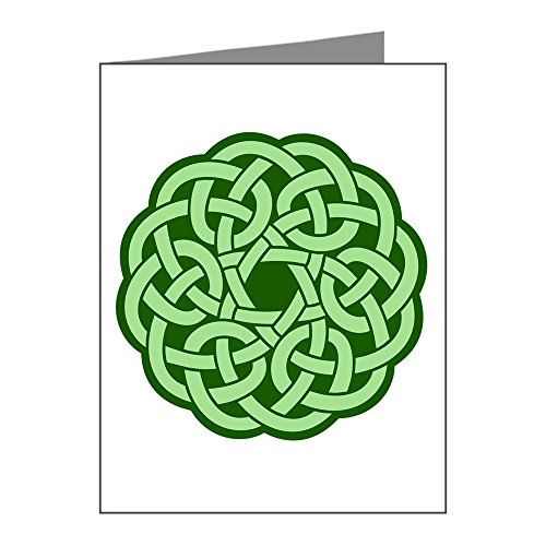 Note Cards (20 Pack) Celtic Knot Wreath ()
