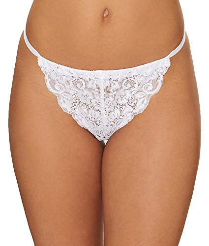 Hot As Hell Chase Me Down Panty, XS, Blanco