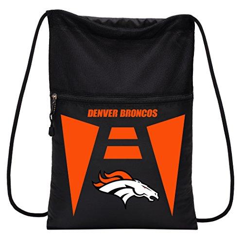 The Northwest Company NFL Denver Broncos Sports Fan Backpacks, black, One Size
