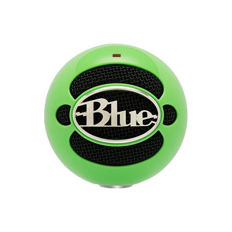 Blue Snowball USB Microphone (Neon Green