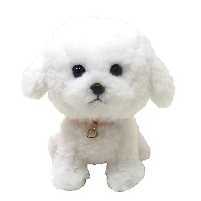 Pups! Stuffed Toy Bichon Frise S: Toys & Games [5Bkhe0801684]