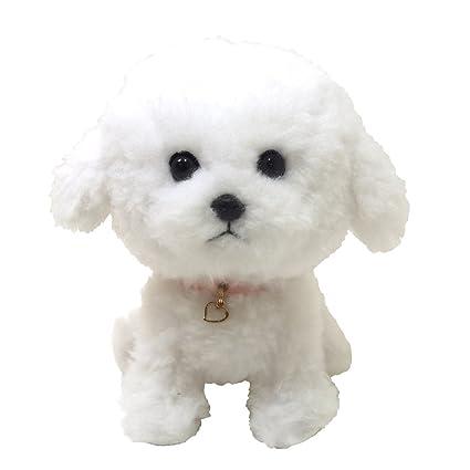 """*BNWT* ELKA AUSTRALIA BICHON FRISE /""""DAISY/"""" PUPPY DOG SOFT TOY 30cm"""