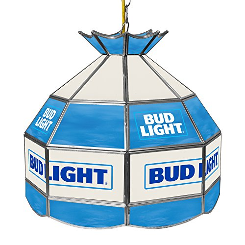 Bud Light Tiffany Gameroom Lamp, 16