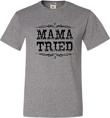 XXXX-Large Oxford Adult Mama Tried Retro Country Music (Country Adult T-shirt)