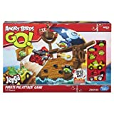 Angry Birds Go! Jenga Pirate Pig Attack Game(Ages 8 and up)9Pirate Pig Attack Game challenges you to take out a Jenga pirate ship with your bird and launcher)