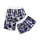 Set Of Two Good To Wear Athletics Shorts/Couple Beach Pants