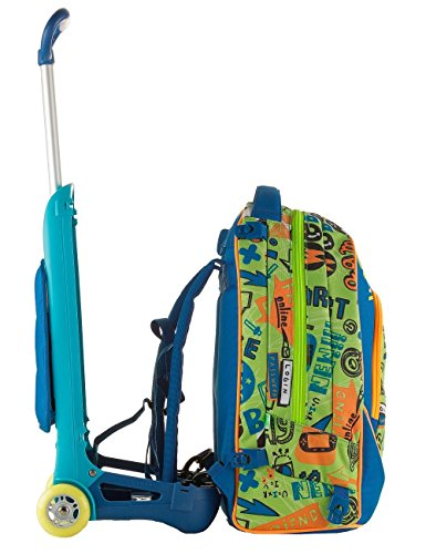 Trolley Jack Junior – SJ GANG – Blau Grün – QYrrMMz