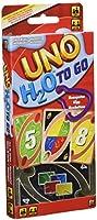Mattel Games - UNO H20 To Go, juego de cartas (Mattel P1703)
