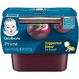 Gerber Purees 1st Foods Prune Baby Food Tubs (Pack of 8)