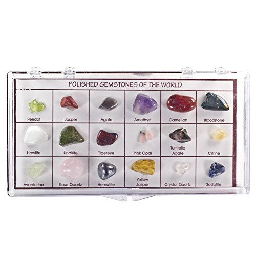 little box of crystals and gems - 8