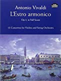 img - for L'Estro Armonico, Op. 3, in Full Score: 12 Concertos for Violins and String Orchestra book / textbook / text book