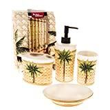 Better Homes and Gardens 5 Piece Palm Bath Set