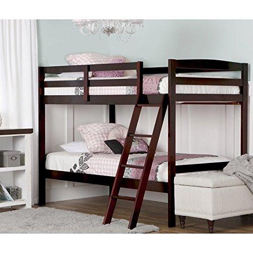 win Over Twin Bunk Bed (Baby Taylor Mahogany)