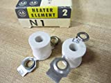 Allen Bradley N1 Overload Thermal Heater Element (Pack of 2)