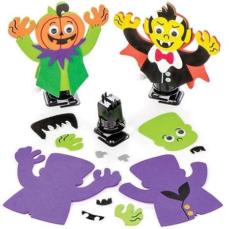 Baker Ross Kit Personaggi di Halloween con Carica Manuale per Bambini 85d036aa05b3