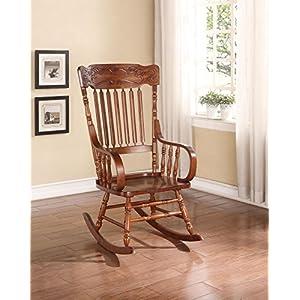 ACME Furniture 59210 Kloris Rocking Chair, Tobacco