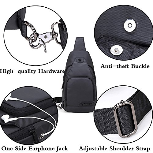 Rullar Multipurpose Oxford Messenger Crossbody Cloth Chest Fanny Girls Purse Sling Shoulder For Men Bags Black School Travel Daypack Women Boys Business Backpack Hiking Ywwxrd0q65