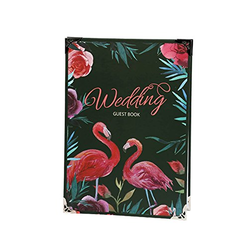 Colias Wing Personalized Wedding Decor Exquisite Wedding Guest Book