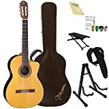 Takamine TC132SC-KIT-2 Classical Nylon String Acoustic Guitar with Hard Case & ChromaCast Accessories