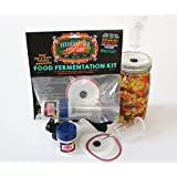 Fermentation Airlock Lid Kit for Mold-Free Wide Mouth Mason Jar Pickling and Fermenting- Make Your Own TASTY, HEALTHY, SUSTAINABLE, PROBIOTIC, LIFE-CHANGING FOOD AT HOME! By Fermentation Creation
