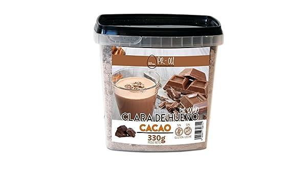 PR-OU Egg Protein - Clara de Huevo en Polvo - 330g - Chocolate: Amazon.es: Salud y cuidado personal