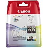 Canon Pixma MP250 Original Printer Ink Cartridge - Black/Tricolour