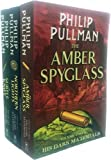 His Dark Materials Trilogy 3 Books Collection Set By Philip Pullman (Northern Lights, The Subtle Knife, The Amber Spyglass)