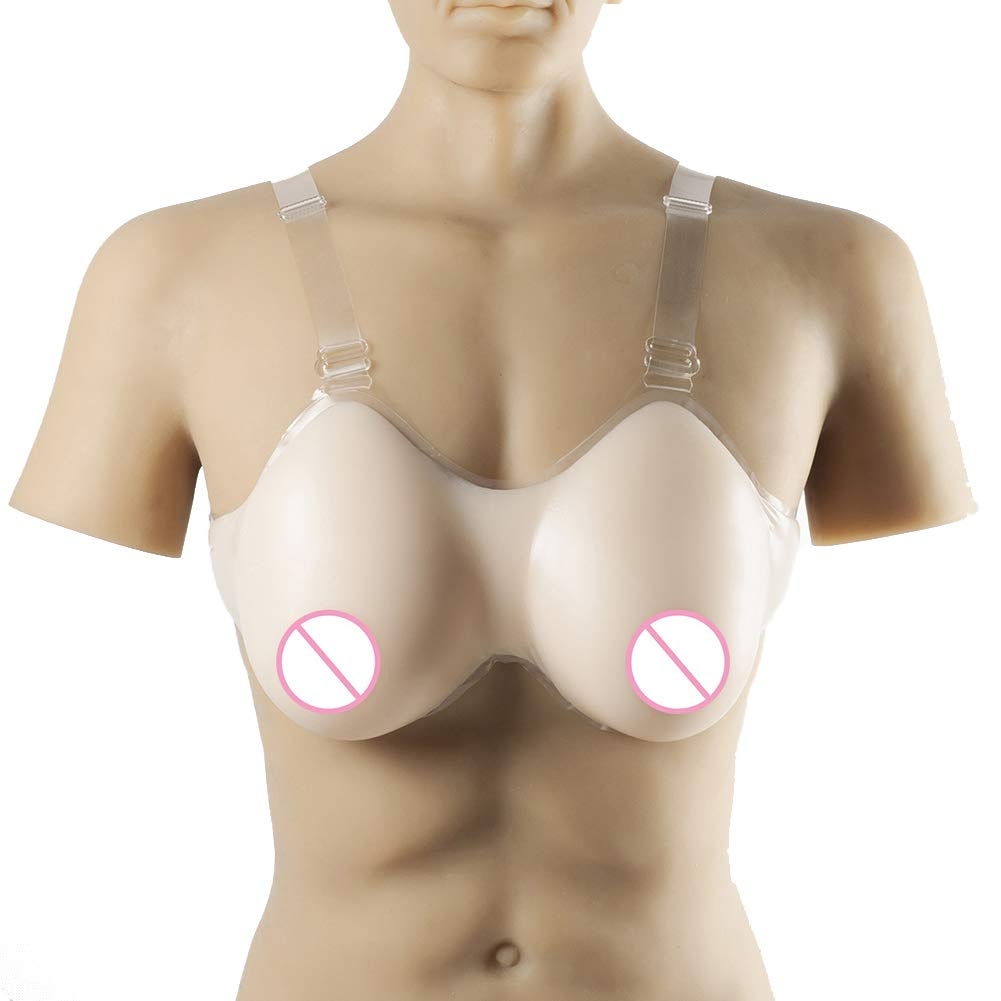 Lifelike Forms Silicone Breast for Crossdressing Transgender Shemale Fake Boobs Enhancement Prostheses Bust Pads,6XL