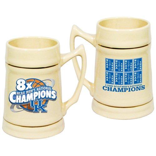 Hunter NCAA Kentucky Wildcats 2012 NCAA Men's Basketball National Champions 24oz. 8X Champs Stein ()